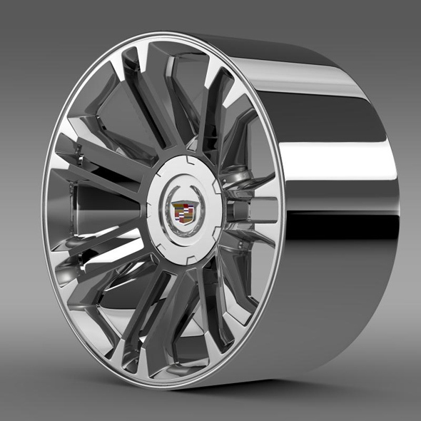 Cadillac Escalade 2013 rim - 3DOcean Item for Sale