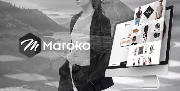 Maroko - Responsive HTML5 Fashion Template