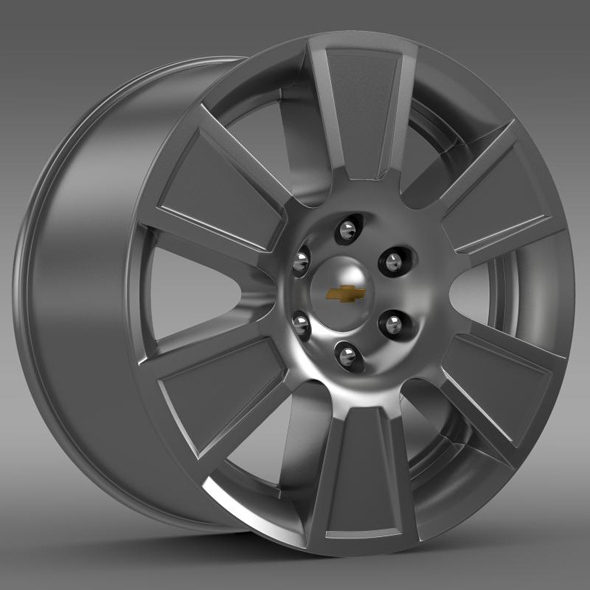 3DOcean Chevrolet Silverado RegularCab 2007 rim 13361642