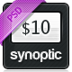 Synoptic premium PSD Template - ThemeForest Item for Sale