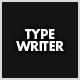 TypeWriter - ActiveDen Item for Sale
