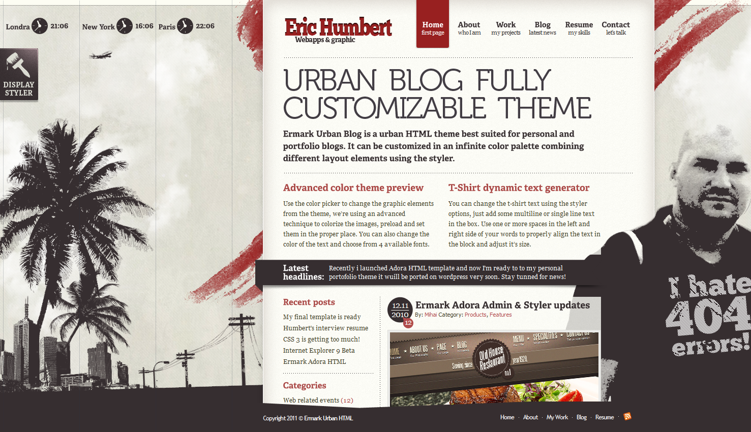 Ermark Urban Blog - HTML