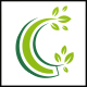 C Letter Nature Logo
