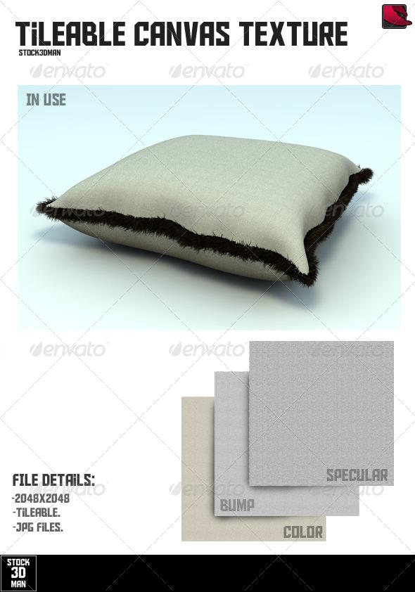 3DOcean Tileable Canvas Texture 159725
