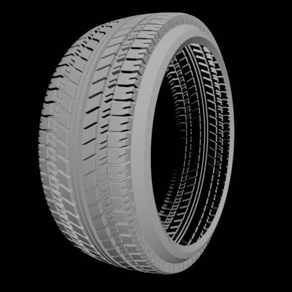 3d wheel - 3DOcean Item for Sale