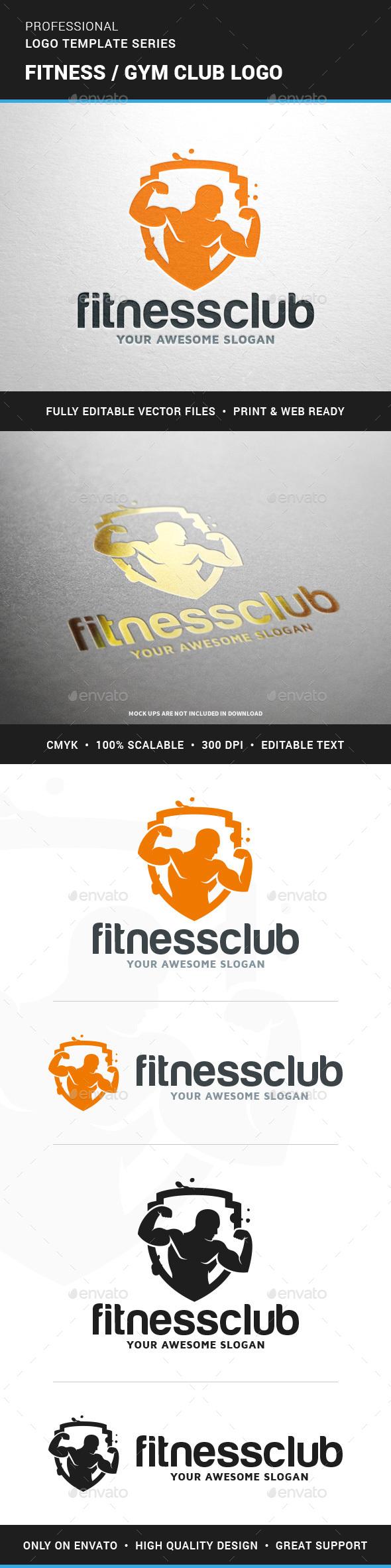 Fitness / Gym Club Logo