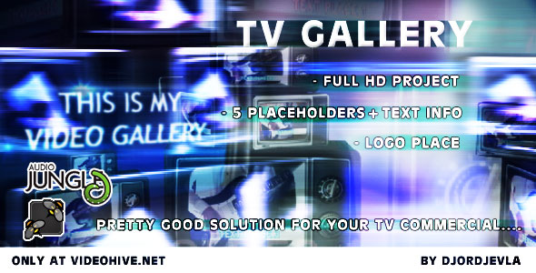After Effects Project - VideoHive Tv Gallery 160267