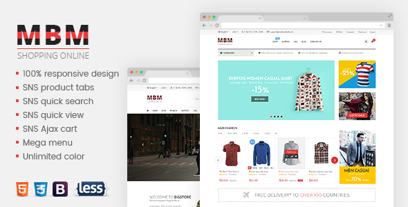 Download SNS Mbm - Responsive Magento Theme nulled download