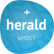 Herald - News & Magazine Ghost Theme