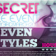 Secret Flyer Template - GraphicRiver Item for Sale