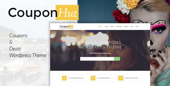 CouponHut – cupones & Trata el tema de Wordpress (Directorio & Anuncios)