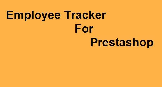Employee Tracker For Prestashop