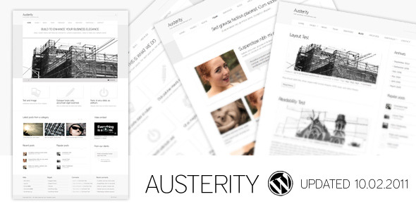 Austerity - Creative WordPress