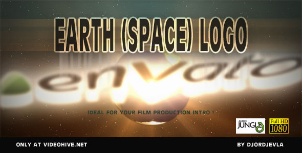 After Effects Project - VideoHive Earth Space Powerfull Logo 160339