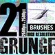 21 Photoshop Grunge Brushes