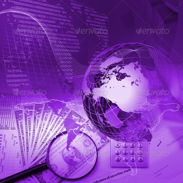 Business charts and graphs - Stock Photo - Images