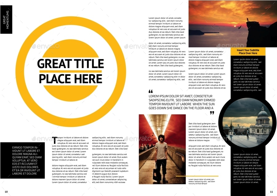 InDesign Magazine Template Vol.2 by siroolee | GraphicRiver