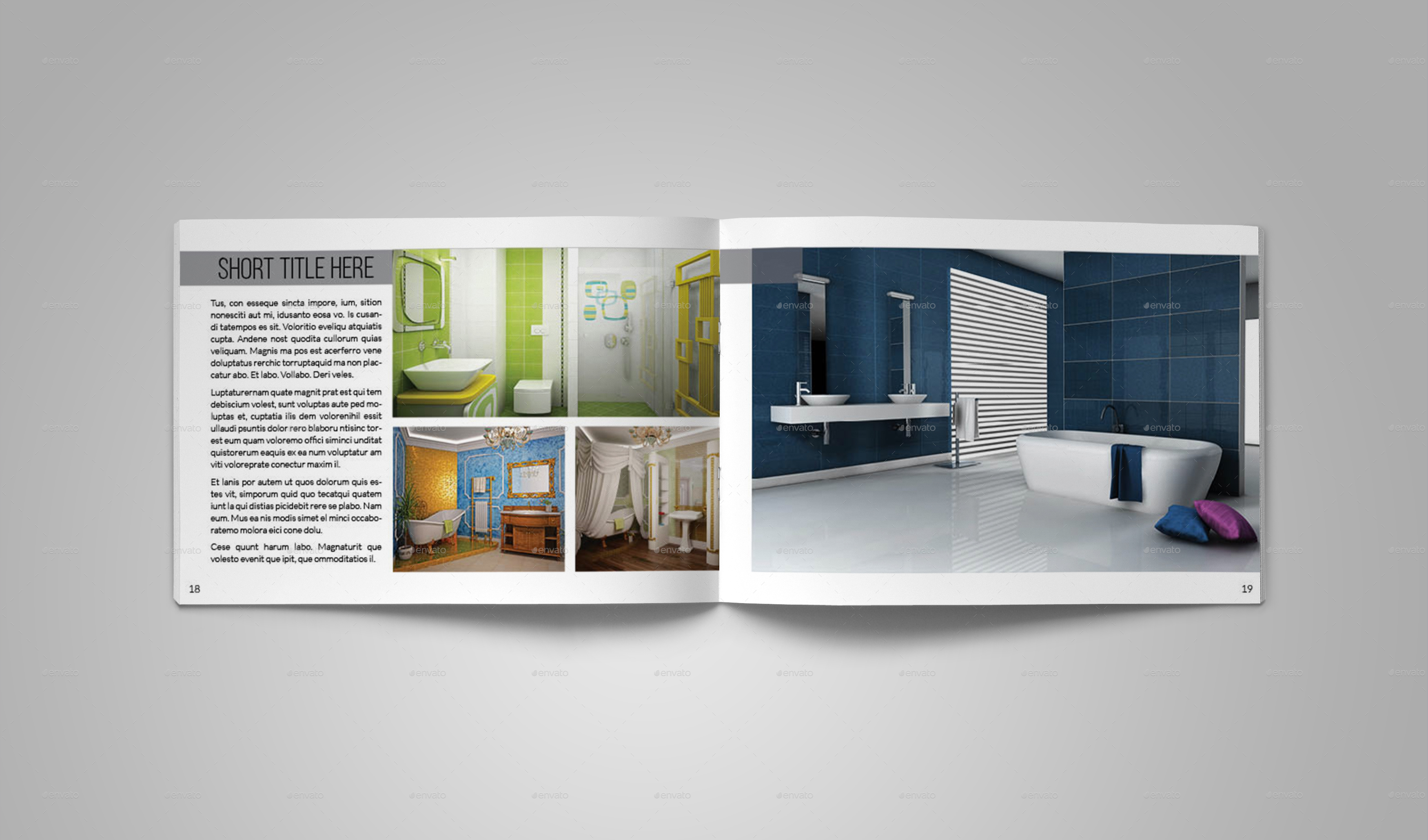 Interior Design Catalog Template By Bookrak