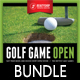 3 in 1 Golf Poster and Banners Bundle