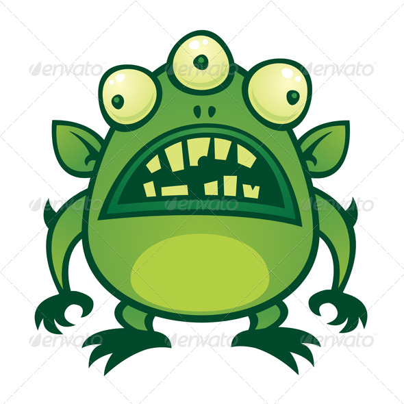 Scary Alien Cartoon Aliens Crazy