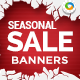 HTML5 Season Sale Banners - GWD - 7 Sizes