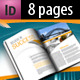 Corporate A4 Brochure in 2 Schemes of Color - GraphicRiver Item for Sale