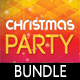 3 Merry Christmas Poster and Banners Bundle