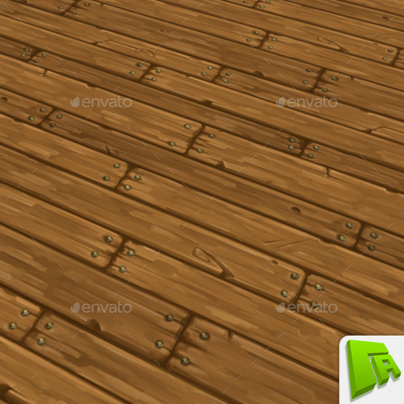 3DOcean Wood Planks 13388668