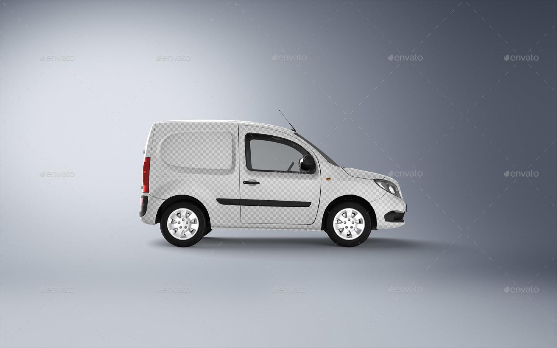 compact van mock up by ayashi graphicriver. Black Bedroom Furniture Sets. Home Design Ideas
