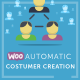 WooCommerce Automatic Customer Creation