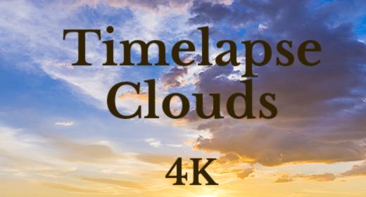 Clouds Timelapse 4K