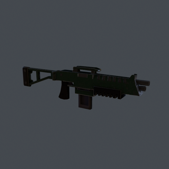 rifle - 3DOcean Item for Sale