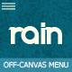 Rain – Responsive Off-Canvas Menu (Navigation) Download