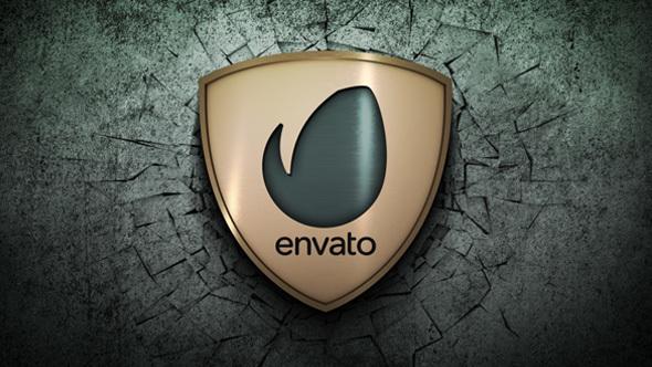 AE模板-20组三维金属质感logo电影预告片头撞击墙面破碎模版 Hits - Animation Pack 免费下载