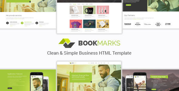 BookMarks - Clean & Simple Business HTML Template