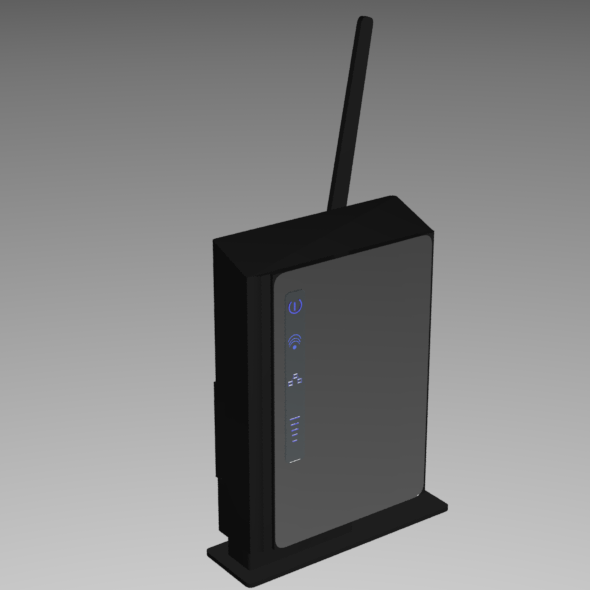 4G Router - 3DOcean Item for Sale