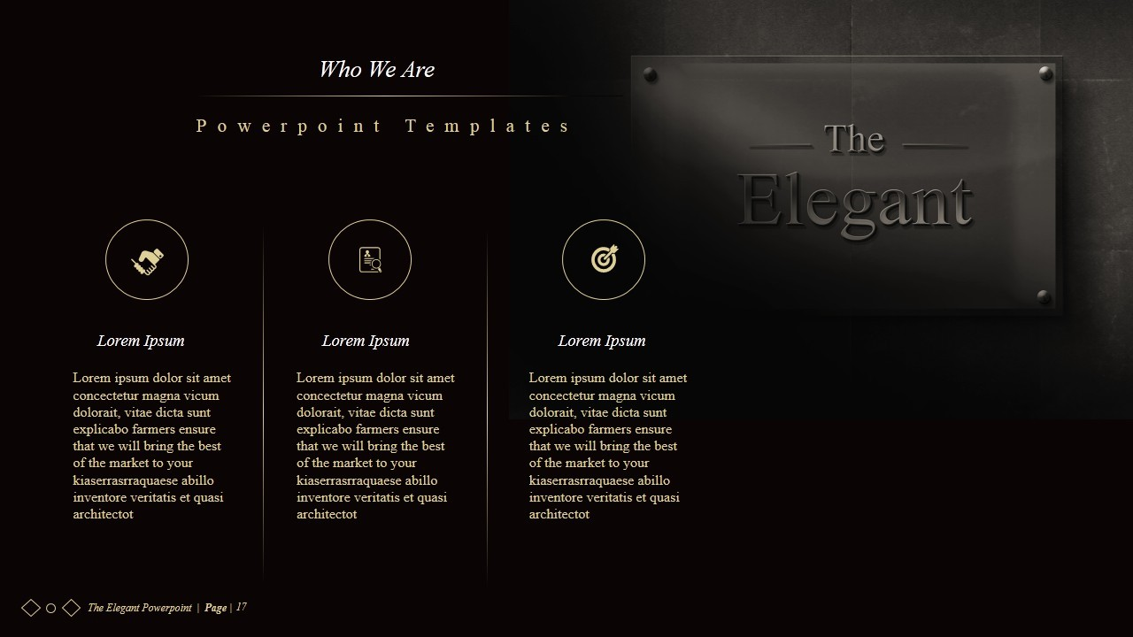 The ELEGANT Powerpoint Presentations by IDsains – Elegant Powerpoint Template