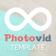 PhotoVid video and photography Blogger Template - ThemeForest Item for Sale