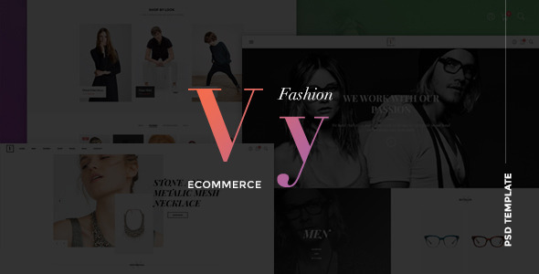 Vy – MultiPurpose eCommerce PSD Template