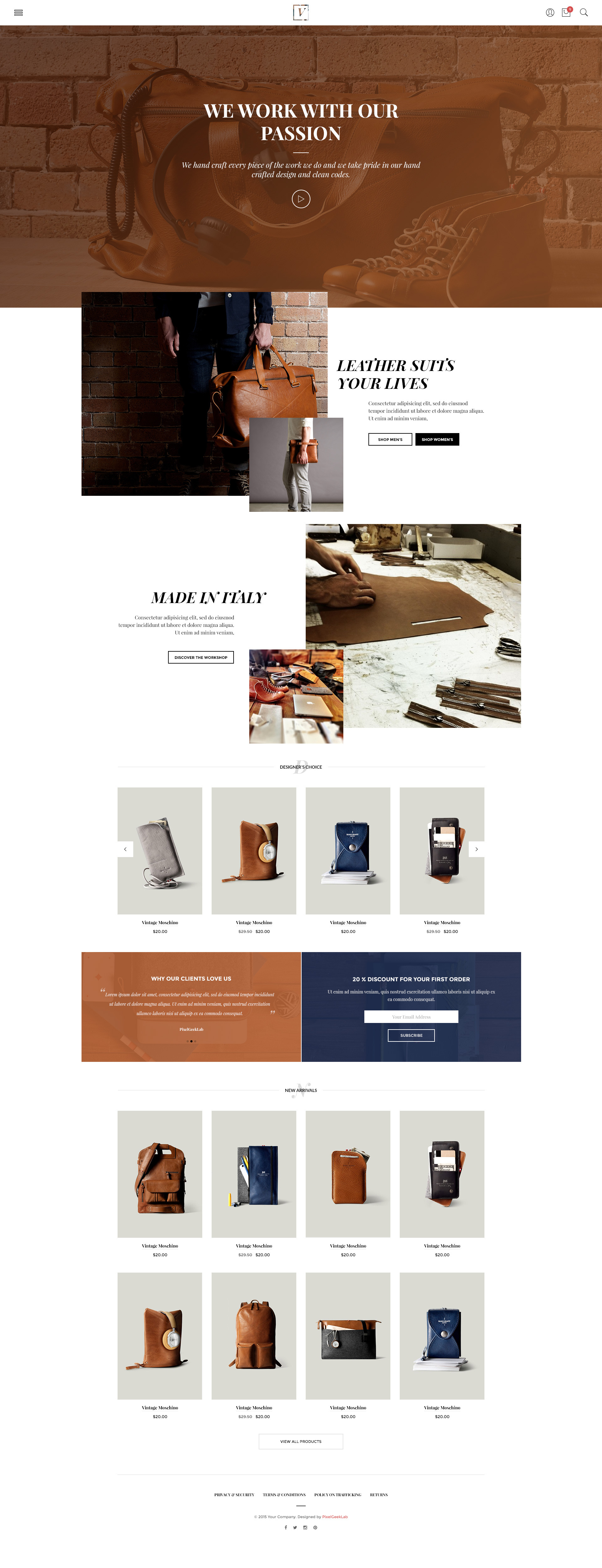 Vy – Fashion eCommerce HTM Template | Multi Layout