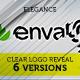 Elegant Clear Ribbon Logo Reveal