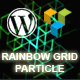 Rainbow Grid Particle
