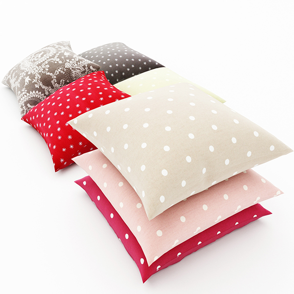 Pillows collection 95 - 3DOcean Item for Sale