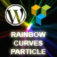 Rainbow Curves Particle