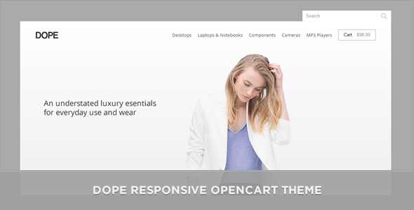 Dope Responsive OpenCart Theme