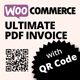 Woocommerce Ultimate PDF Invoice with QR Code