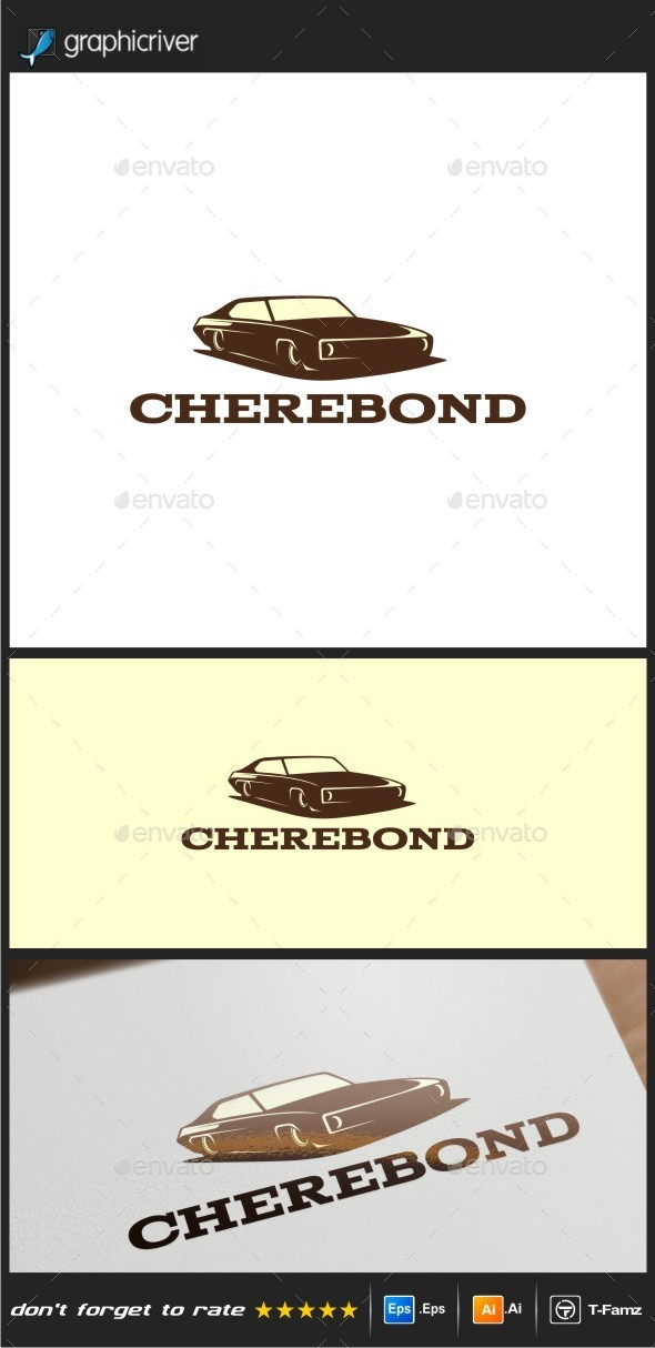Vintage Car Logo Templates