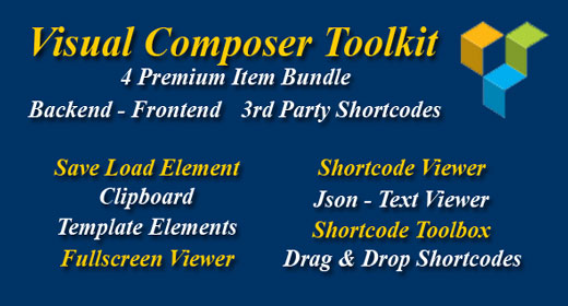 Visual Composer Toolkit
