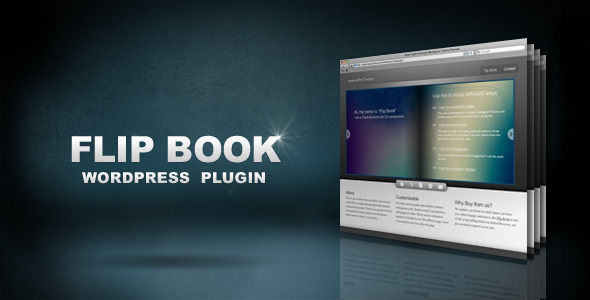 CodeCanyon Flip Book WordPress Plugin 152641
