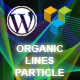 Organic Lines Particle